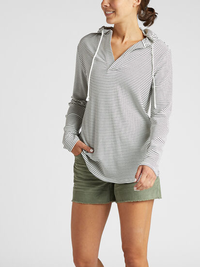Indispensable Tunic Hoodie: Model Image