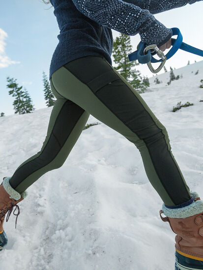 Trail Tamer Tights: Model Image