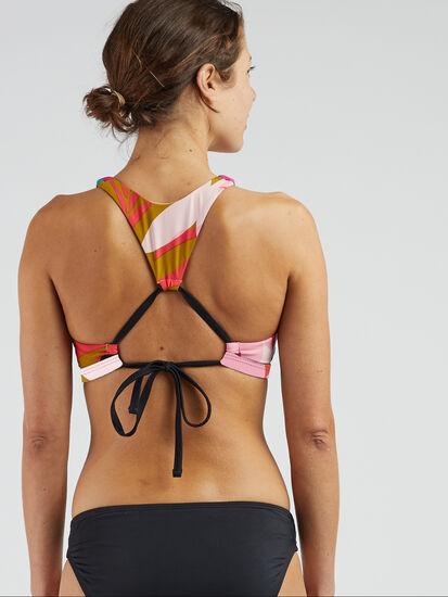 Selkie High Neck Bikini Top - Seychelles: Image 3