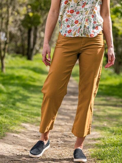 Miraculous Wide Leg Cropped Pants