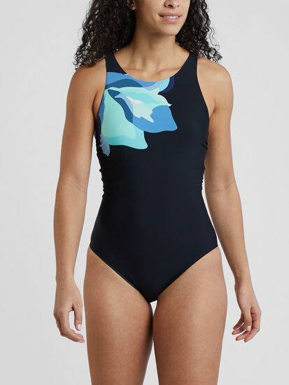 Woman Up One Piece Swimsuit - Flower Mix: Image 2