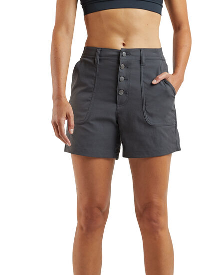 Jeanne High Waisted Shorts: Image 1