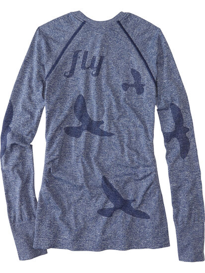 Wings Out Long Sleeve Top: Image 2