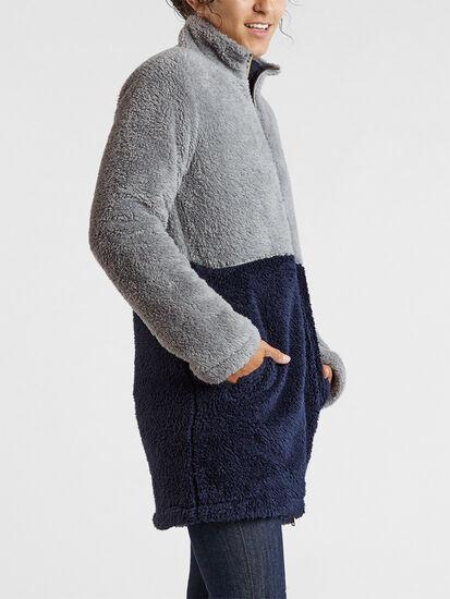 Flip Turn Reversible Fleece Jacket, , original