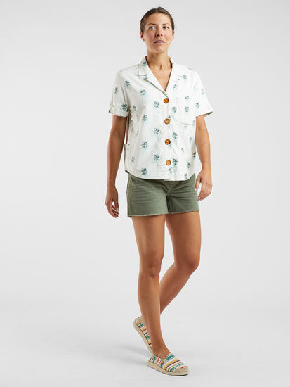 Whoa-loha Short Sleeve Shirt - Indio Palm
