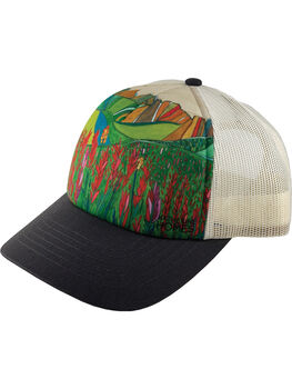 Galleria Trucker Hat - Paintbrush Flower