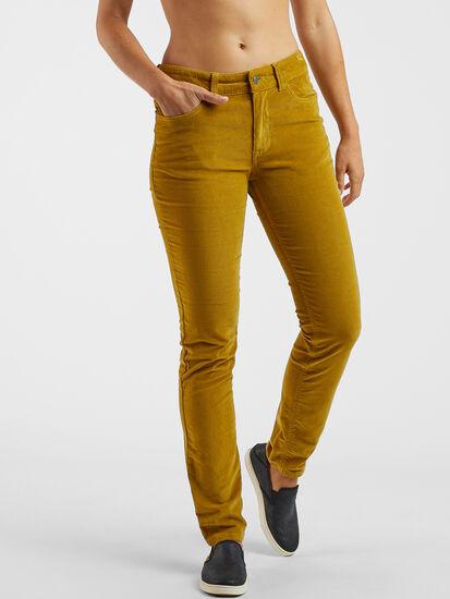 Clara Kent Corduroy Pants - Skinny: Image 1