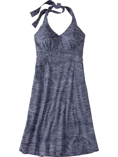 Beck Halter Dress: Image 1