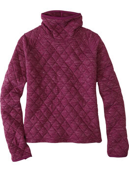 Power Up Quilted Turtleneck Pullover