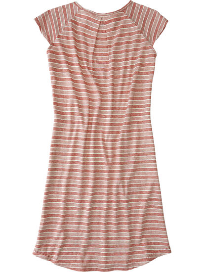 Sativa Short Sleeve Dress - Stripe: Image 2