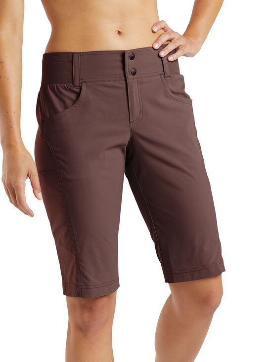 QLOOM MANLY shorts with innershort Trainning apparel Women Navy