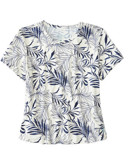 Shaka Short Sleeve Sun Shirt - Alana: Image 1