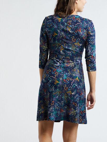 Dream 3/4 Sleeve Dress - Flora Fest: Image 4