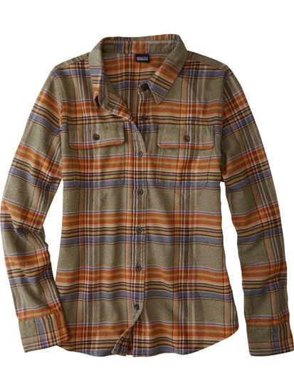 Timeless Flannel Long Sleeve Top: Image 1