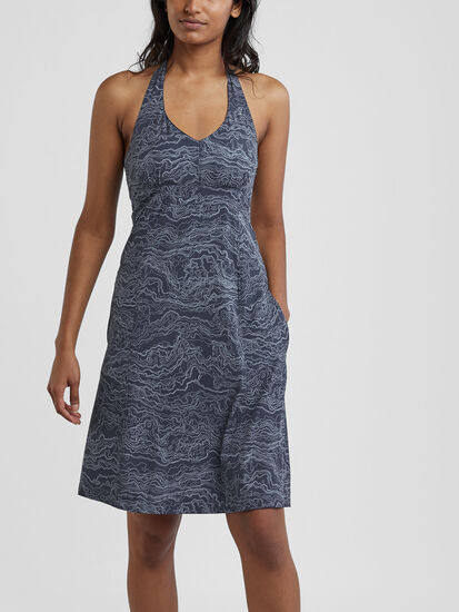 Beck Halter Dress: Image 3