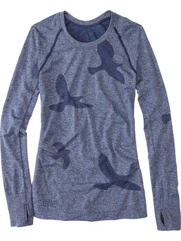 Wings Out Long Sleeve Top