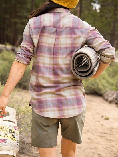 Plaiditude Droptail Long Sleeve Shirt: Image 6