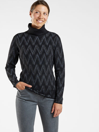 Striking Turtleneck Sweater