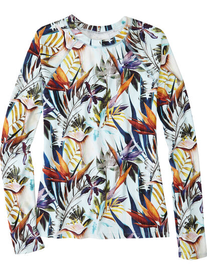 Aquatic Life Rash Guard - Tropical: Image 1