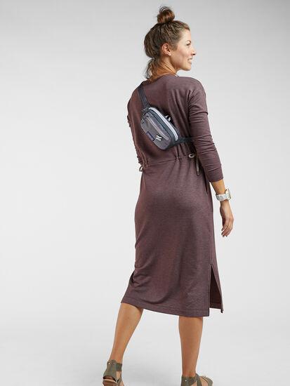 Uprising Long Sleeve Midi Dress : Image 3
