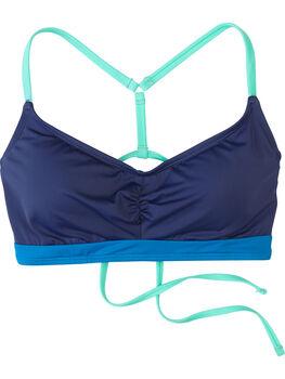 Tidal Rave Underwire Bikini Top - Colorblock