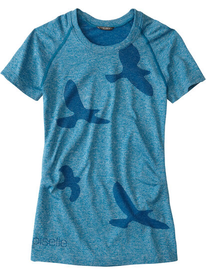 Wings Out Short Sleeve Top: Image 1