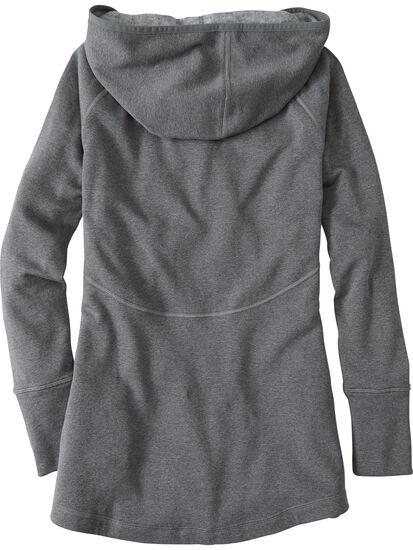 Mighty Full Zip Tunic Hoodie: Image 2