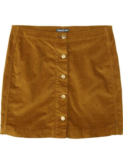 Cruise Corduroy Skirt: Image 1