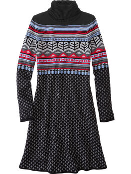 Rhonda's Turtleneck Sweater Dress