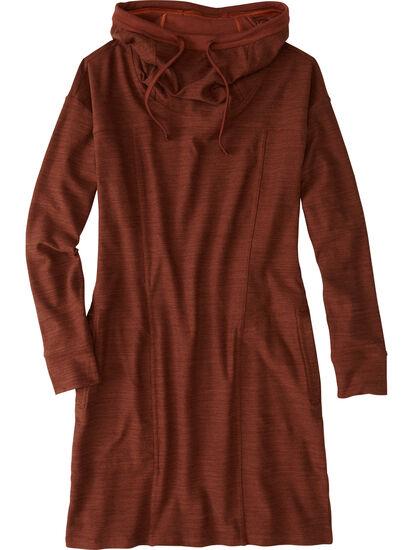 Hibernation Hooded Sweatshirt Dress: Image 1