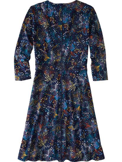 Dream 3/4 Sleeve Dress - Flora Fest: Image 2