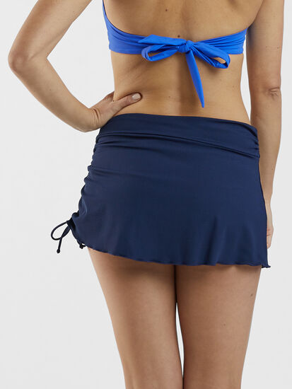 Hoku Swim Skirt - Solid: Image 4