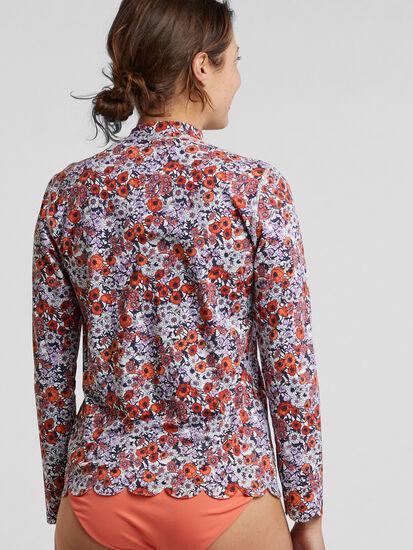 Skimboard Sun Shirt - Poppy: Image 2
