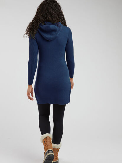 Impulse Hoodie Sweater Dress: Image 3