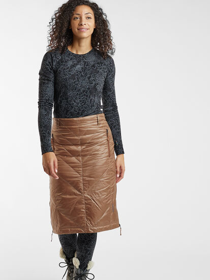 Bun Warmer Midi Skirt