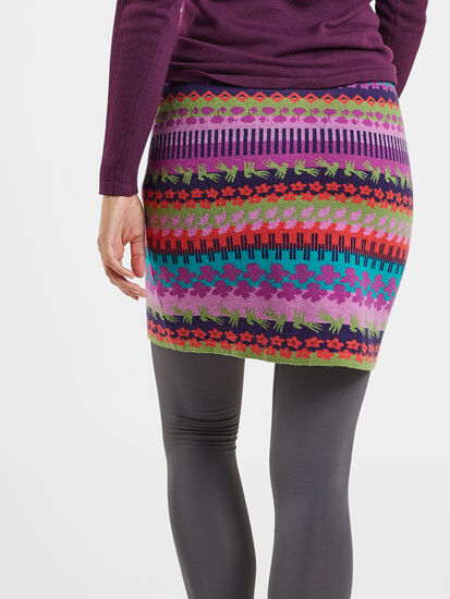 Ziggy Sweater Skirt - Orchid: Image 4