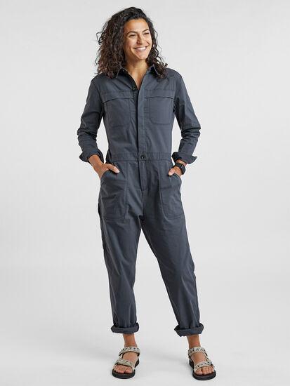 Rosie Utility Long Sleeve Jumpsuit: Image 1