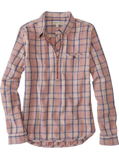 Plaiditude Recycled 1/4 Zip Pullover: Image 1