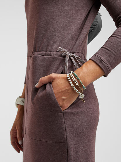Uprising Long Sleeve Midi Dress : Image 4