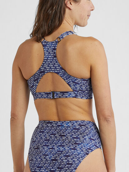 Streamline Bikini Top - Shibori Mini: Image 3