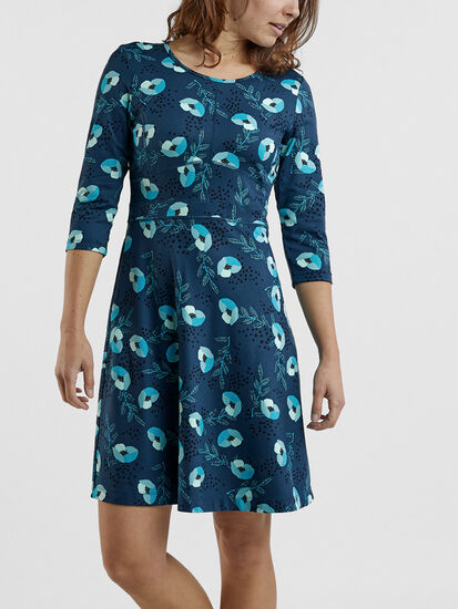 Dream 3/4 Sleeve Dress - Happy Days: Image 3