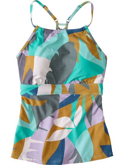 Namaka High Neck Tankini Top - Savanna: Image 1