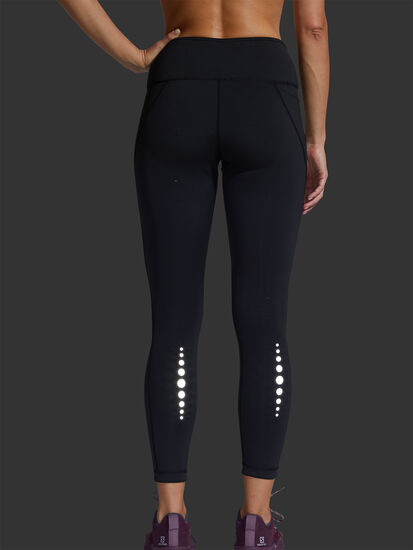 Mad Dash Reversible Running Tights - Reflective: Image 6