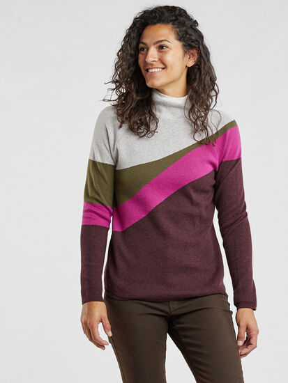 Barra Sweater - High Tide, , model