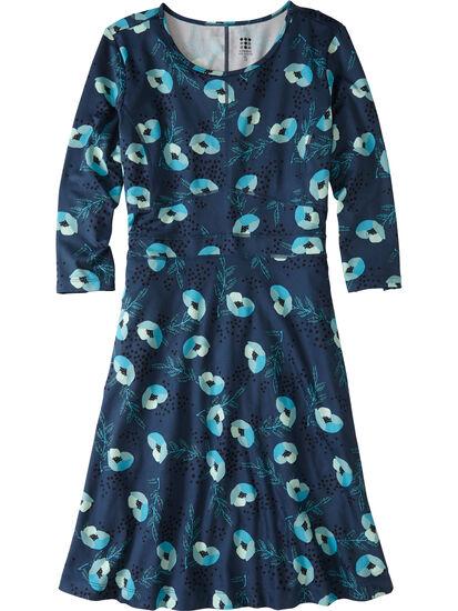 Dream 3/4 Sleeve Dress - Happy Days: Image 1