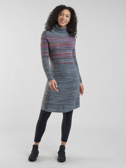 Rhonda's Sweater Dress: Model Image