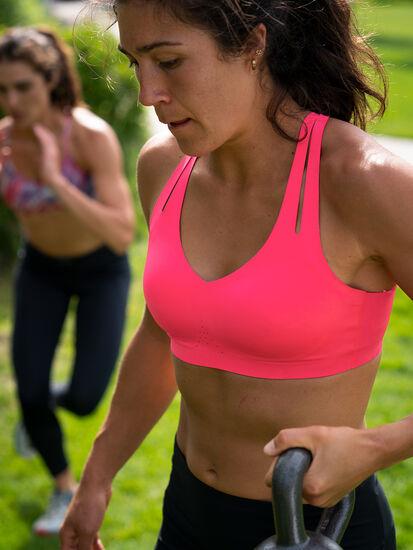 Run It All Strappy Sports Bra: Image 4