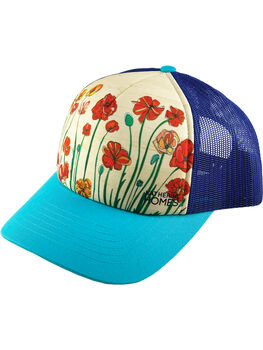 Galleria Trucker Hat - Poppies