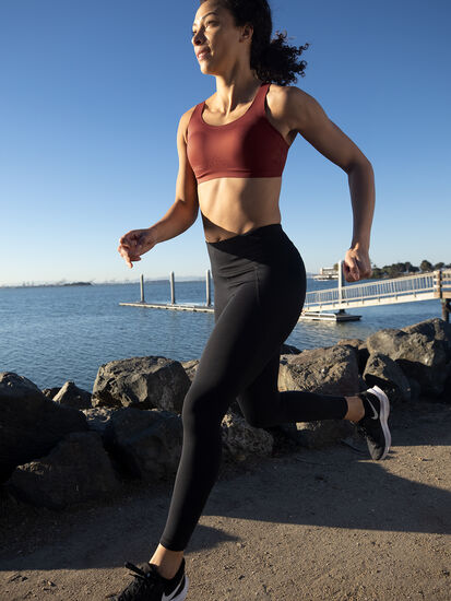 Run It All Adjustable Sports Bra: Image 5