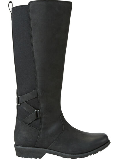 Serious Waterproof Boot Tall - Black: Image 2